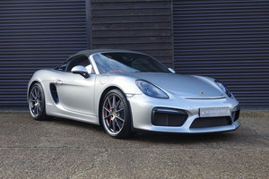 Picture of 2016 Porsche 981 Boxster Spyder 3.8 6 Speed Manual (10,000 miles) SOLD