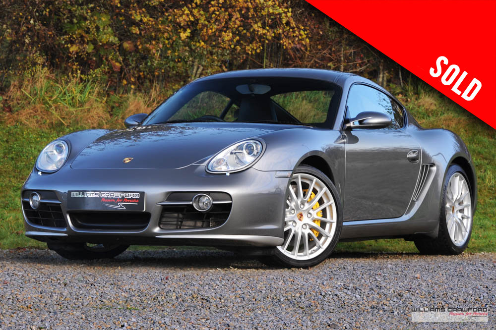 2006 Porsche 987 Cayman S manual with PCCB SOLD (picture 1 of 6)