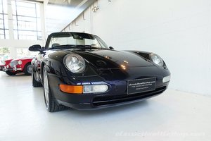 Picture of 1996 AUS del. 993 Carrera Cabrio in Midnight Blue, Navy leather For Sale