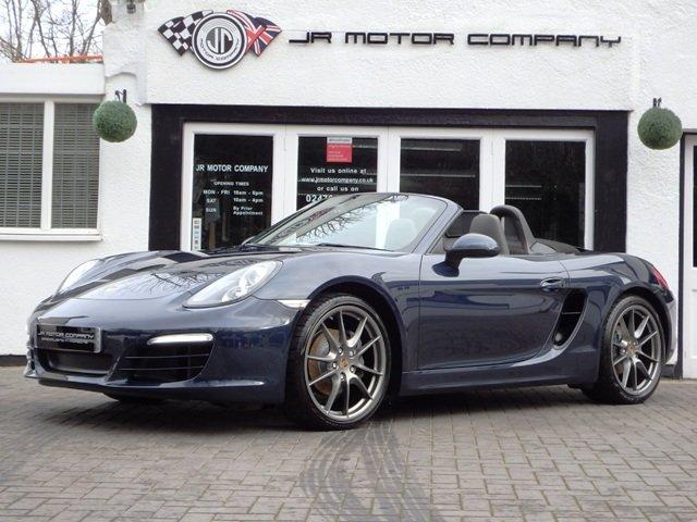2013 Porsche Boxster 981 2.7 PDK Dark Blue metallic huge spec! SOLD (picture 2 of 12)