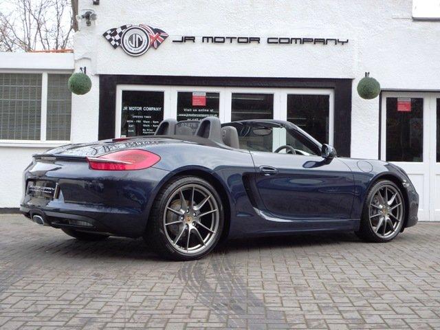 2013 Porsche Boxster 981 2.7 PDK Dark Blue metallic huge spec! SOLD (picture 7 of 12)