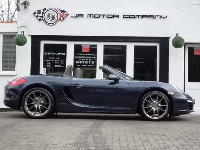 2013 Porsche Boxster 981 2.7 PDK Dark Blue metallic huge spec! SOLD (picture 8 of 12)