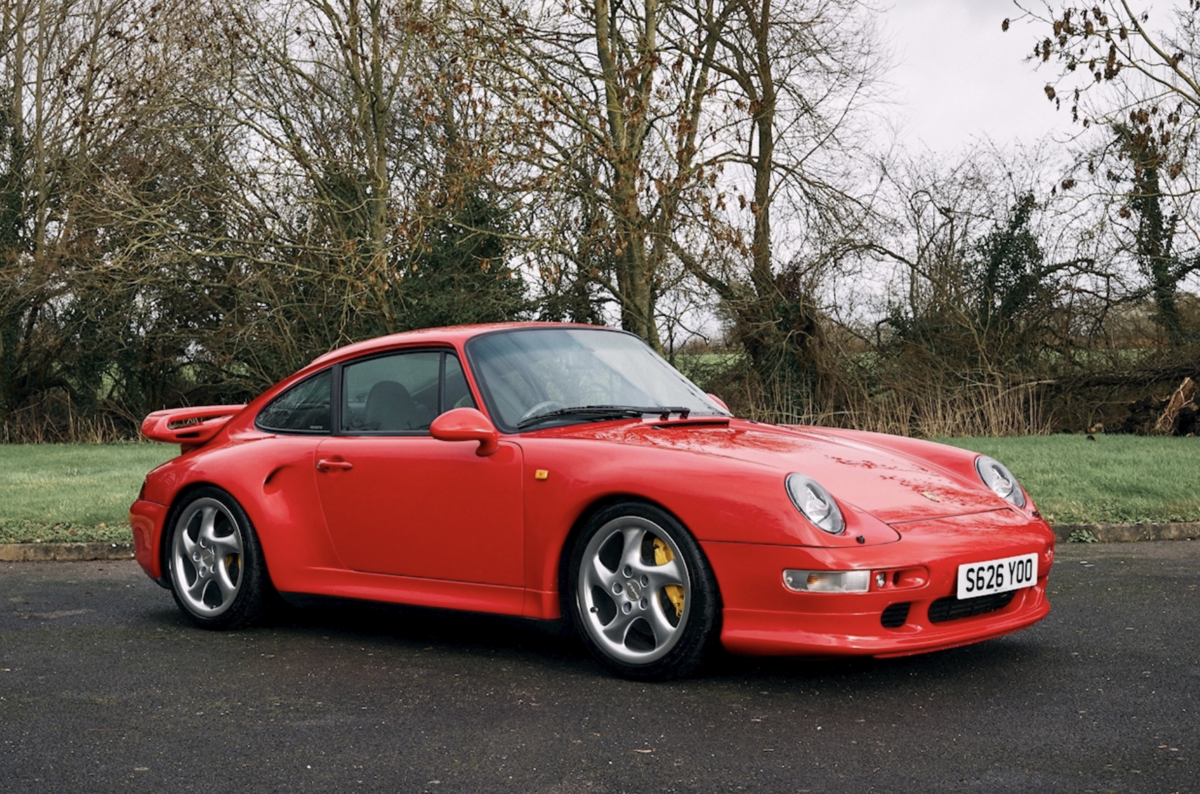 1998 Porsche 911 993 Turbo S For Sale For Sale (picture 1 of 10)