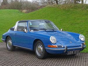 Picture of 1967 Porsche 911 Targa 27th April For Sale by Auction
