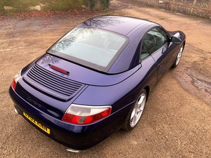 Picture of superb 2002 Porsche 911 (996) 3.6 Carrera 2 Cabrio Tiptronic SOLD
