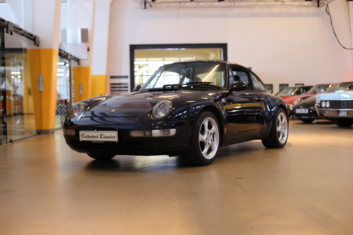 1994 Last of the air-cooled Porsche 911 Carrera (993) Coupe Tiptr For Sale (picture 1 of 12)