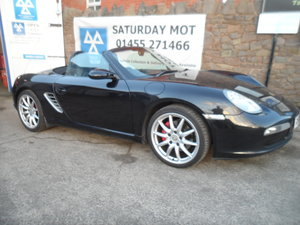 Picture of 2008 BOXSTER SPORT CONVERTIBEL 3 BLACK 155,000 MILES F.S.H MOTED For Sale