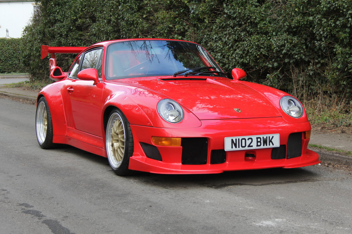 1995 Porsche 993 GT2 Evo Recreation - Twin Turbo, factory GT2 kit For Sale (picture 1 of 17)