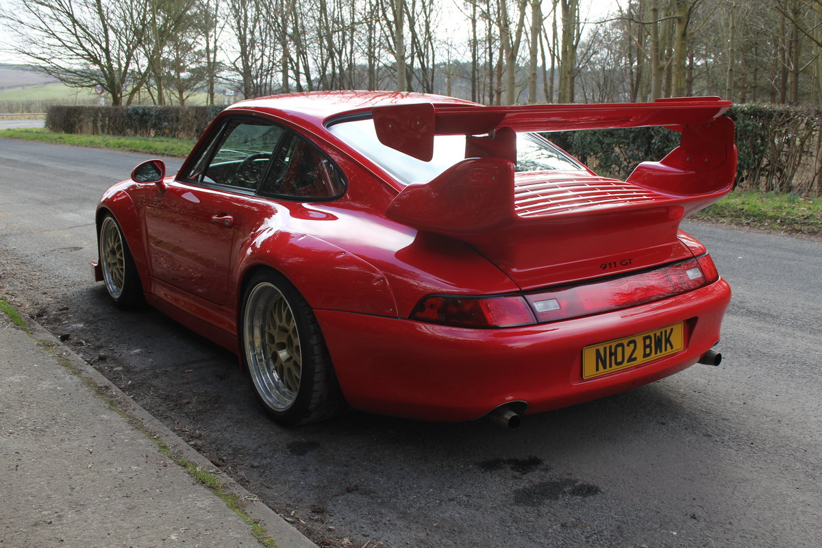 1995 Porsche 993 GT2 Evo Recreation - Twin Turbo, factory GT2 kit For Sale (picture 4 of 17)