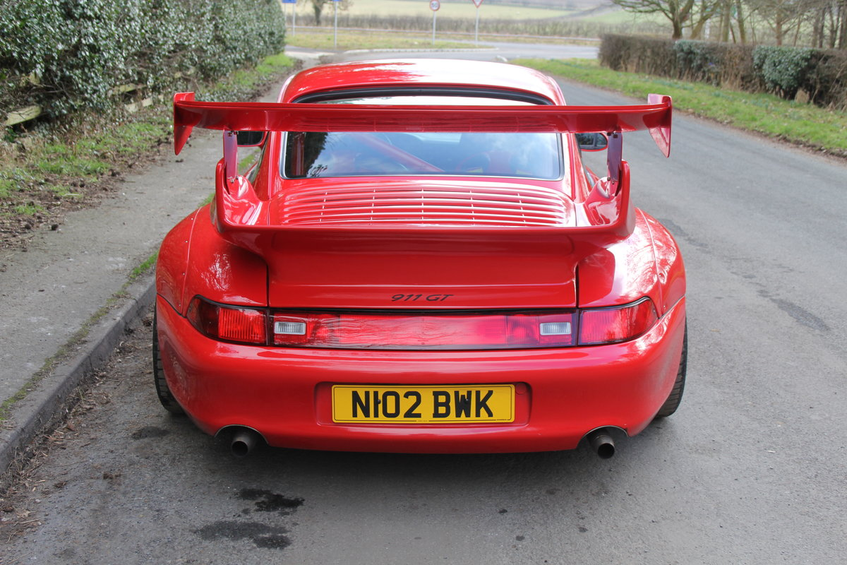 1995 Porsche 993 GT2 Evo Recreation - Twin Turbo, factory GT2 kit For Sale (picture 5 of 17)