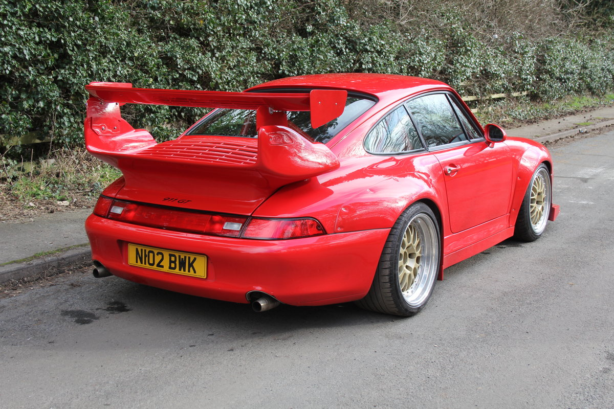 1995 Porsche 993 GT2 Evo Recreation - Twin Turbo, factory GT2 kit For Sale (picture 6 of 17)