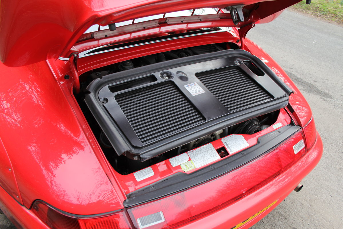 1995 Porsche 993 GT2 Evo Recreation - Twin Turbo, factory GT2 kit For Sale (picture 14 of 17)