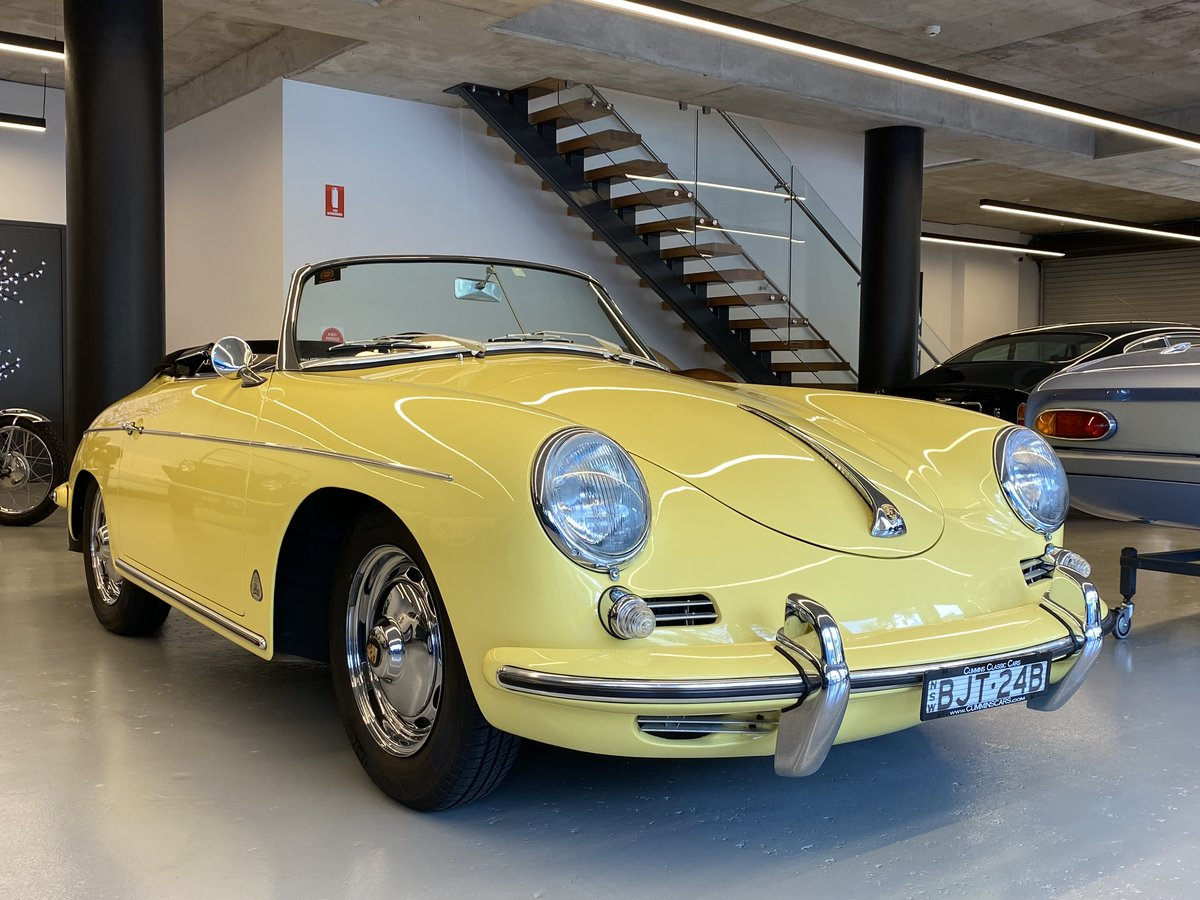 1960 Porsche 356B T5 1600S Roadster RHD For Sale (picture 1 of 12)