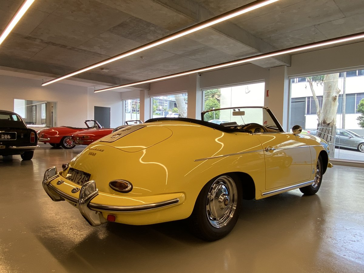 1960 Porsche 356B T5 1600S Roadster RHD For Sale (picture 2 of 12)