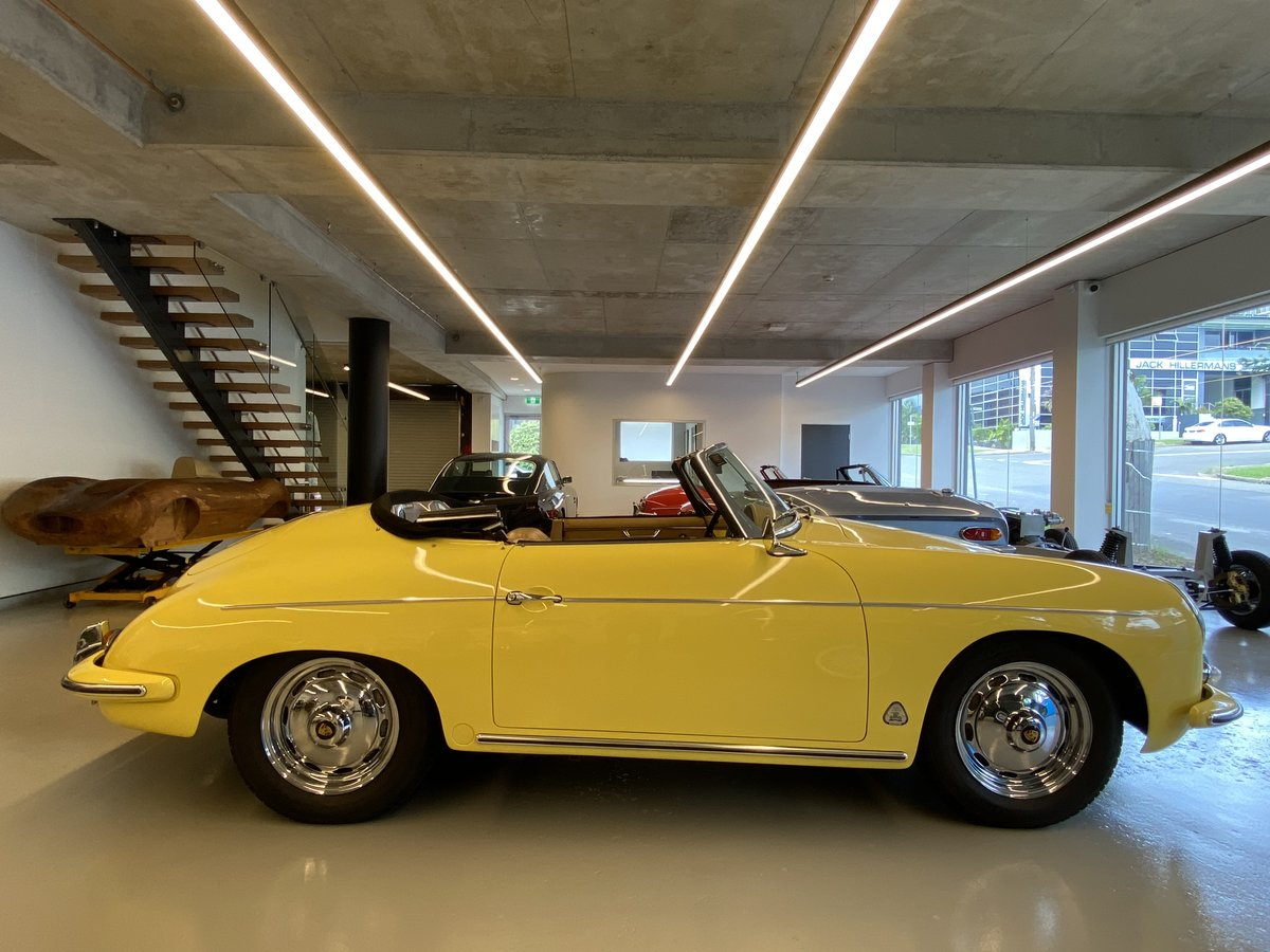 1960 Porsche 356B T5 1600S Roadster RHD For Sale (picture 3 of 12)