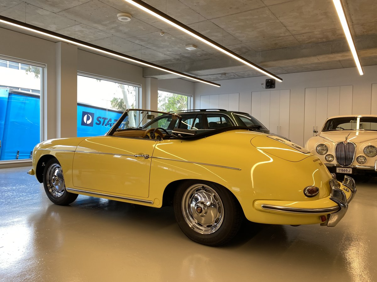 1960 Porsche 356B T5 1600S Roadster RHD For Sale (picture 5 of 12)