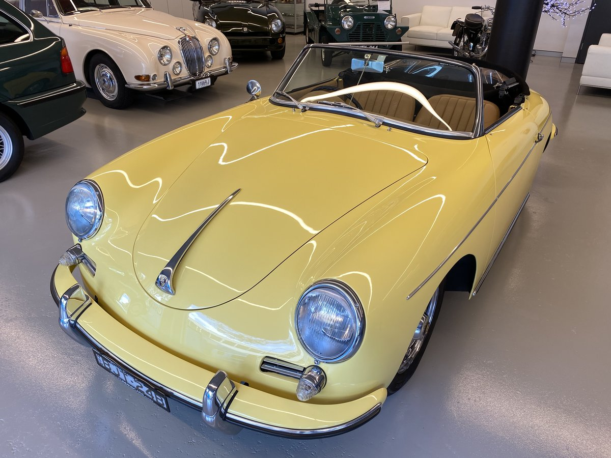 1960 Porsche 356B T5 1600S Roadster RHD For Sale (picture 6 of 12)