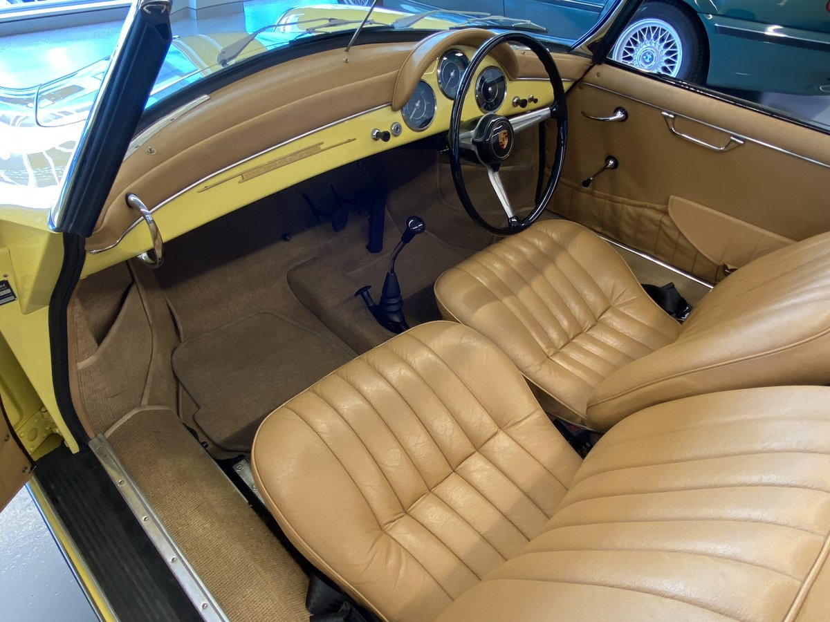 1960 Porsche 356B T5 1600S Roadster RHD For Sale (picture 7 of 12)