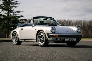 Picture of 1985 Porsche Carrera 3.2-  owned by George Daniels The 1972 For Sale by Auction