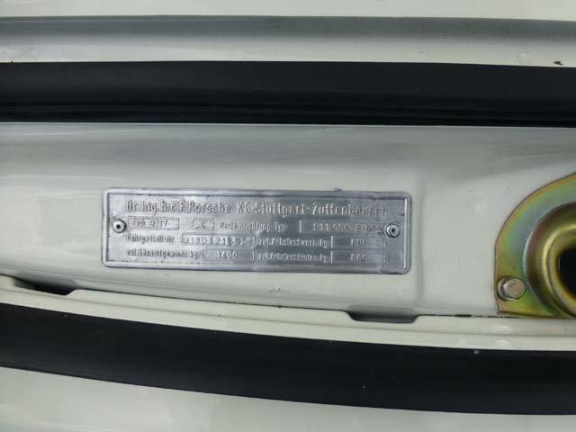 1969 Porsche 911 Karmann coupe For Sale (picture 19 of 20)