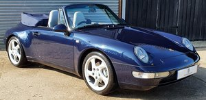 Picture of 1997 Stunning 993 C4 Cabriolet Manual - Amazing History - 90k SOLD