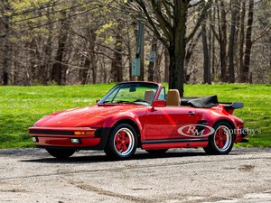 Picture of 1988 Porsche 911 Turbo Flat-Nose Cabriolet  For Sale by Auction