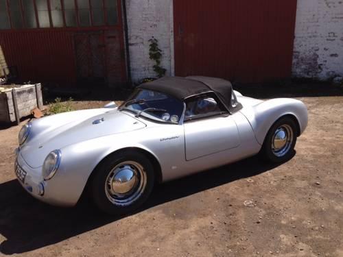 1955 Porsche 550 Spyder Replica In Silver Sold Car And Classic