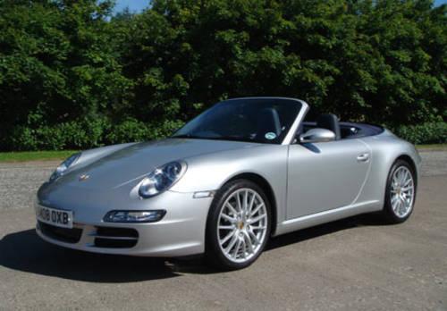 Porsche 911 (977) Carrera Cabriolet For Hire (picture 1 of 4)