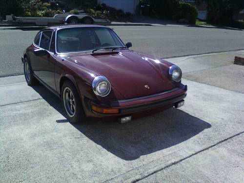 1977 Porsche 911S Coupe  For Sale (picture 1 of 3)