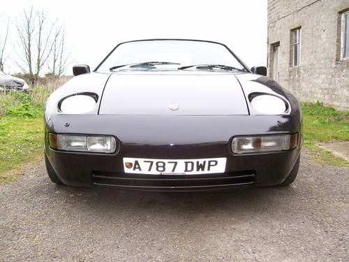 Porsche 928 S Auto 1983 Black S4 Kit Cup Alloys For Sale (picture 1 of 6)