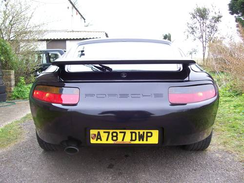 Porsche 928 S Auto 1983 Black S4 Kit Cup Alloys For Sale (picture 2 of 6)