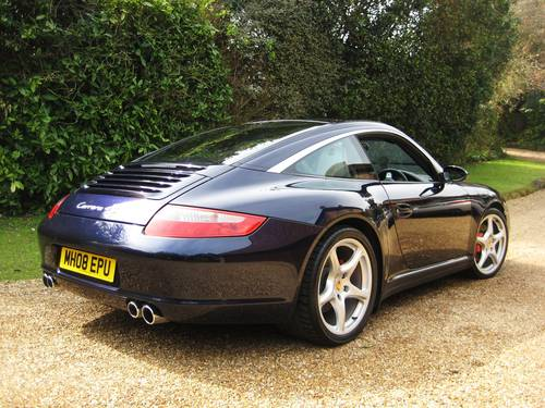 2008 Porsche 911 (997) 3.8 Targa 4 S Tiptronic S With Only 40k For Sale (picture 5 of 6)
