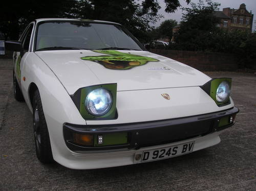 1986 Porsche 924 s 2.5 Asp lightweight fast track-road. For Sale (picture 3 of 6)