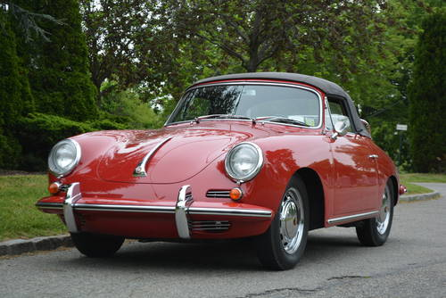 1965 Porsche 356C Cabriolet For Sale (picture 1 of 5)