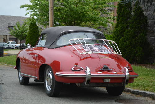 1965 Porsche 356C Cabriolet For Sale (picture 2 of 5)