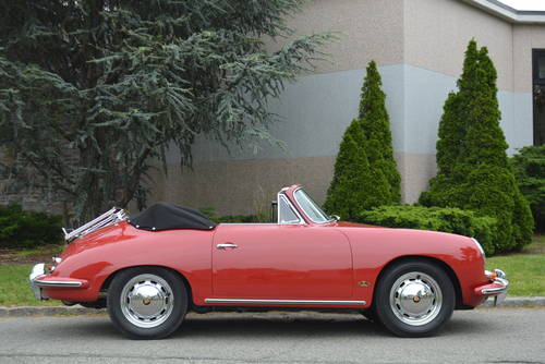 1965 Porsche 356C Cabriolet For Sale (picture 3 of 5)