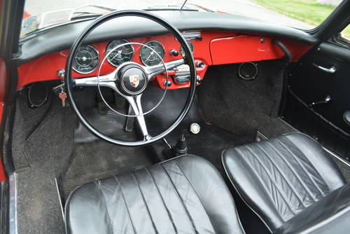 1965 Porsche 356C Cabriolet For Sale (picture 4 of 5)