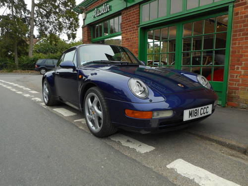 1994 Porsche 911(993) C2 Coupe Manual  For Sale (picture 2 of 6)