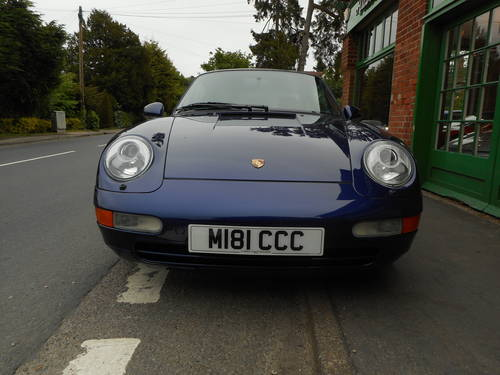 1994 Porsche 911(993) C2 Coupe Manual  For Sale (picture 6 of 6)