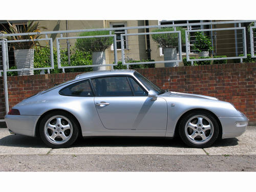 1995-PORSCHE 911 (993) CARRERA COUPE TIPTRONIC  For Sale (picture 2 of 6)
