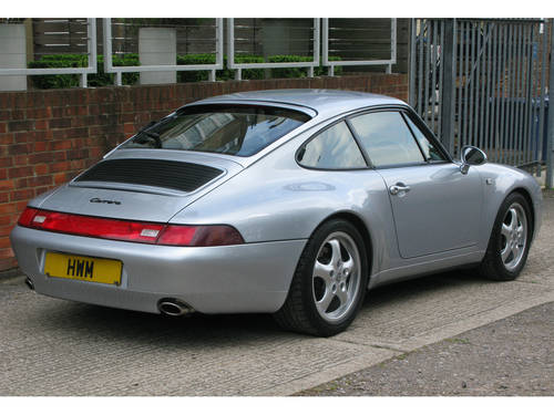 1995-PORSCHE 911 (993) CARRERA COUPE TIPTRONIC  For Sale (picture 3 of 6)