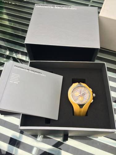 porsche rs spyder ltd edn watch For Sale (picture 1 of 3)