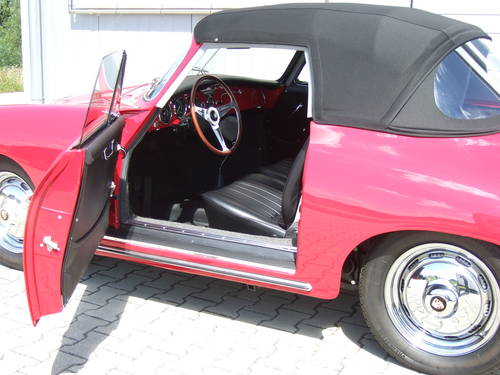 1962 Porsche 356 B 1600 S Cabriolet --- professionally restored For Sale (picture 5 of 6)