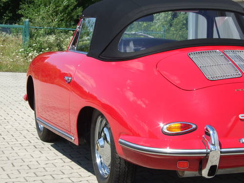 1962 Porsche 356 B 1600 S Cabriolet --- professionally restored For Sale (picture 6 of 6)