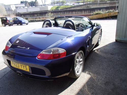 2003 Porsche Boxter 3.2 S  For Sale (picture 2 of 6)