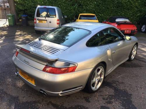 2003 Porsche 996 Turbo Manual For Sale (picture 4 of 6)