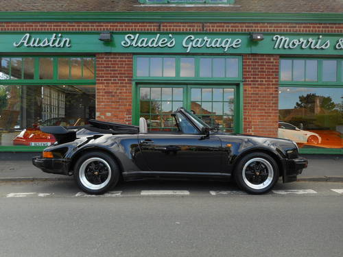 1989 Porsche 911 Carrera SuperSport Turbo Body Cabriolet  For Sale (picture 1 of 4)