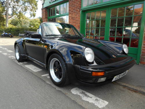 1989 Porsche 911 Carrera SuperSport Turbo Body Cabriolet  For Sale (picture 2 of 4)
