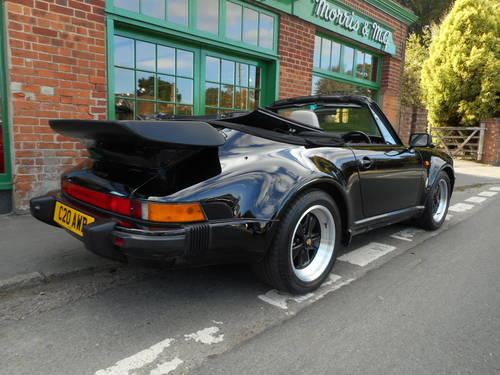 1989 Porsche 911 Carrera SuperSport Turbo Body Cabriolet  For Sale (picture 3 of 4)