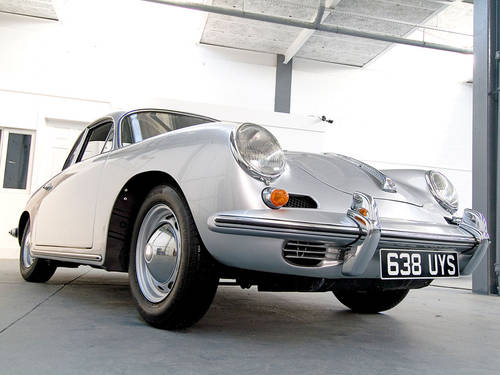 Porsche 356B 1962 in Silver  For Sale (picture 2 of 6)